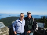 Jim (Plock) and his wife, Sheila, visiting Orcas Island in the San Juan Islands above Seattle, WA, AUG 2013